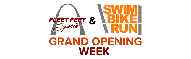 FLEET FEET St. Louis & Swim Bike Run Grand Opening Week