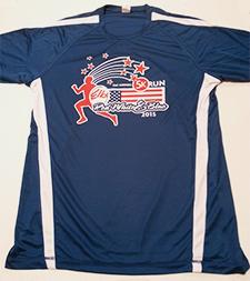 Red, White & Blue 5K Shirt