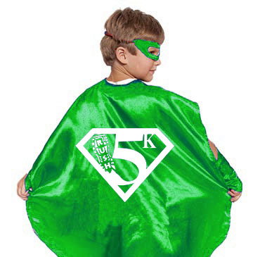 RUSH Superhero 5K Kid's Cape