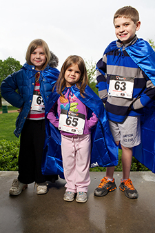 RUSH Superhero 5K Kids