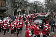 5K Santa's Dash Runners